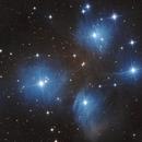 Pleiades M45,                                José Santivañez Mueras