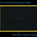 M36 The Pinwheel Cluster,                                SuburbanStargazer