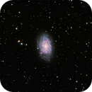 NGC7793 Flocculent Spiral Galaxy in Sculptor,                                TWFowler