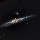 NGC 4631 The Whale Galaxy in Canes Venatici,                                Joaquín Pérez Bonome