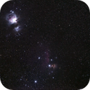 Orion/Running Man/Horsehead & Flame nebulae with partial Barnard Loop,                                KiwiAstro