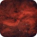 Propeller Nebula (Simeis 57),                                Bob Stewart