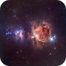 The Orion Nebula,                                SkyRacer