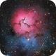 Trifid Nebula RGB,                                Hunter Harling