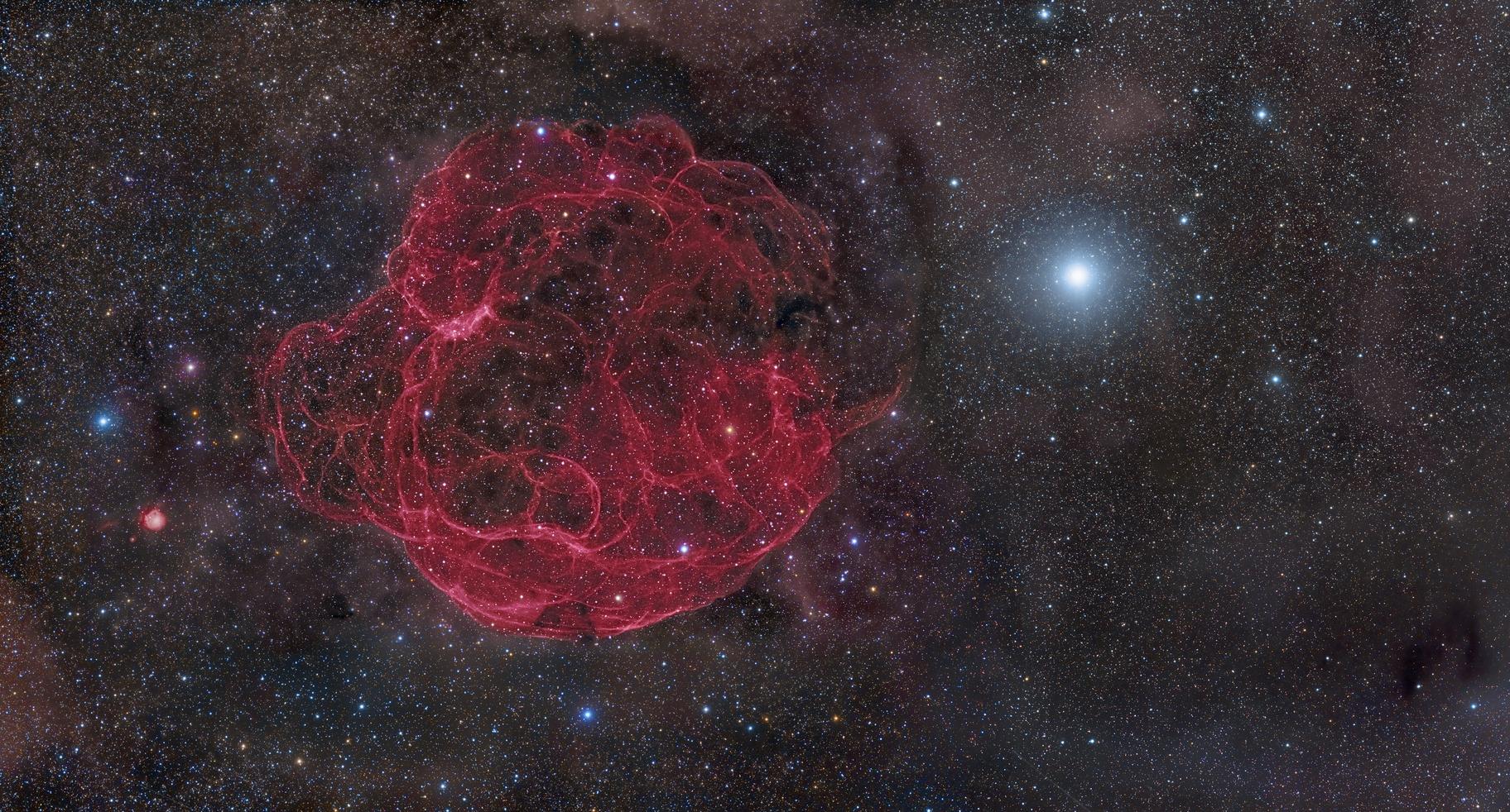 Simeis 147 Supernova Remnant,                                Rogelio Bernal An...
