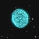 NGC 1501 Planetary Nebula - RGB,                                Jerry Macon