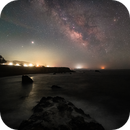 Milky Way over Sonoma Coast,                                John Blumert