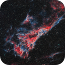 Pickering's Triangle, part of the Veil Nebula in the Cygnus Loop,                                Shawn
