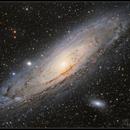 M31 Andromeda galaxy,                                Andre van der Hoeven