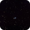 Whirlpool Galaxy - Stacked from 3/21 & 3/22 dates,                                athornton79