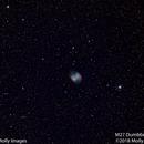 M27 Dumbbell Nebula #11,                                Molly Wakeling