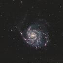M101 & NGC 5477 (HaRGB),                                Mike Oates