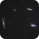 Leo Trio - M65, M66, & NGC3628,                                jgibsonemu