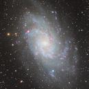 Messier33,                                Jan Sjoerd de Vries