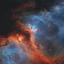 IC1848 - IC1871 - Soul Nebula,                                Jon Bridges