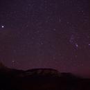 Lever d'Orion sur les Bauges,                                kiwi74