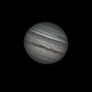 Jupiter rotation during 2 hours,                                nzv