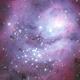 Lagoon nebula,                                Máximo Bustamante