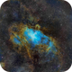 M16 (NGC6611) Eagle Nebula,                                Richard Bratt