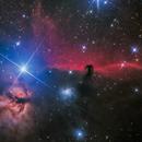 IC 434, B33, nebulosa cabeza de caballo, nebulosa de la llama,                                JesusM.L.