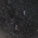 Heart Nebula and Double Cluster,                                Miskiewicz