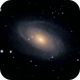 M81 Bode's Galaxy Motion Simulation  (Unguided),                                Robert Van Vugt