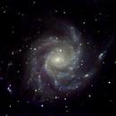 Pinwheel Galaxy M101 379 5sec Subs,                                TSquasar
