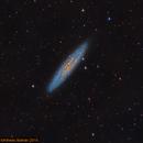 NGC 253 Galaxia del Escultor (Sculptor Galaxy),                                Alfredo Beltrán