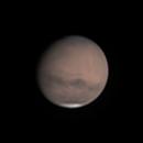 Mars on August 28, 2018 (Moon & Skyglow, IR 685nm Pass, & UV-IR Cut Filters),                                JDJ