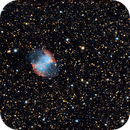 M27 Dumbbell Nebula with QHY5LII-C,                                turfpit