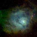 M8 Lagoon nebula,                                jihongc