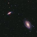 M81 and M82 in HaRGB,                                legova