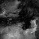 North-America-Nebula and Pelican-Nebula in Halpha,                                AndreP