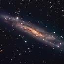 NGC 7640 in Andromeda.,                                Ian Gorin