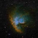 NGC 281 HST palette,                                Maciej