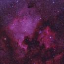 Widefield North America Nebula and Pelican Nebula in RGB,                                Tyler Millhouse