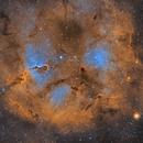 Elephant trunk nebula,                                U-ranus