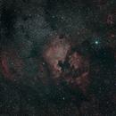 NGC7000 at 85mm in NBRGB,                                JDJ