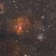 NGC7635 Bubble Nebula with M52 Star Cluster,                                John Massey