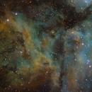 Core of Carina Nebula,                                Paul Wilcox (UniversalVoyeur)
