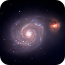 M51 The Whrilpool Galaxy,                                astro_rocketeer
