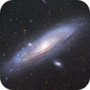 Andromeda Galaxy 2020 with AP 92mm/Canon Ra,                                Jeff Ball