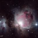 The Orion Nebula (M42),                                Landon Boehm