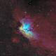 NGC7380 Wizard nebula,                                equinoxx