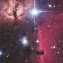 Horsehead and Flame nebula,                                Daniele Gasparri