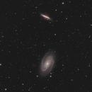 M81+M82 - Bode's Galaxy and Sigar Galaxy,                                Benny Colyn