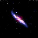 m  82    ripetizione  senza la supernova   gia pubblicata,                                Carlo Colombo