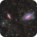 M81 and M82 - Galaxy Wars - By Insight Observatory - Please zoom! :-),                                Daniel Nobre