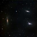 The Leo Triplet (M65, M66, NGC 3628,                                Steven E Labkoff