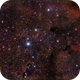 IC1396 light pollution,                                Karlov